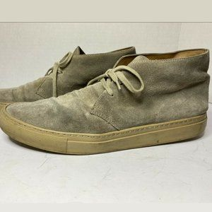 Common Projects Gray Chukka Suede Made In Italy 44